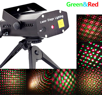 Цветомузика DJ Club Party Green & Red Laser